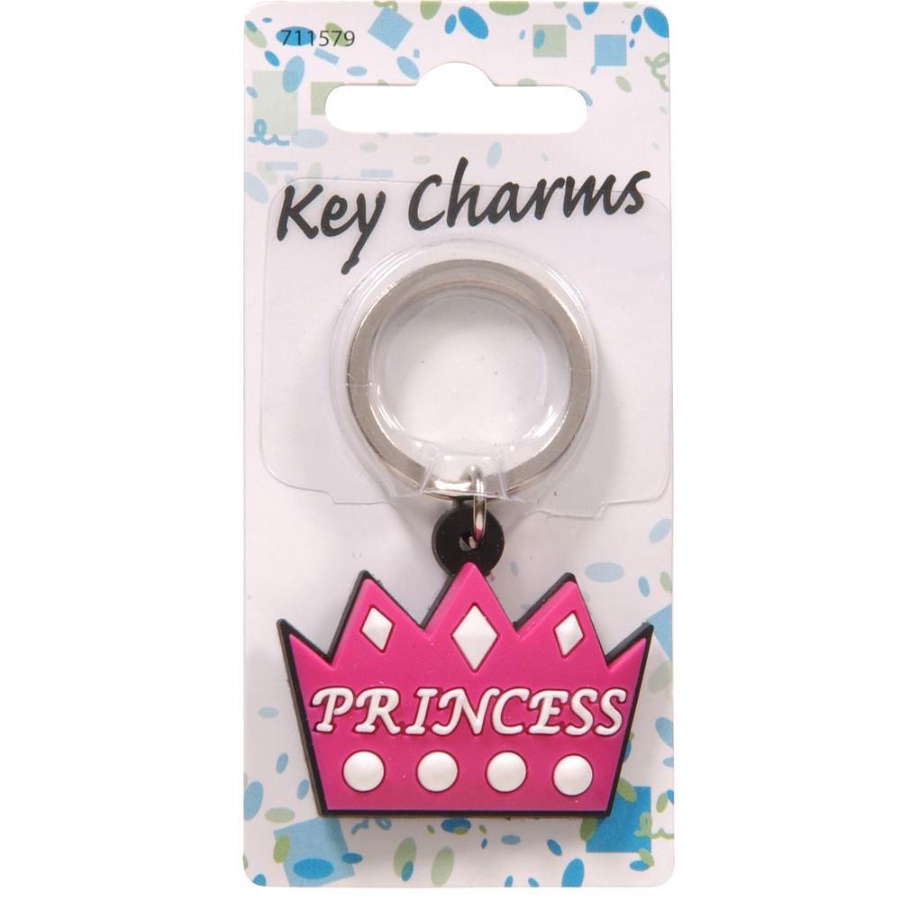 Princess Crown Key Chain (3-Pack)
