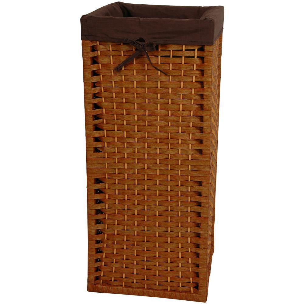 Honey Natural Fiber Laundry Trunk