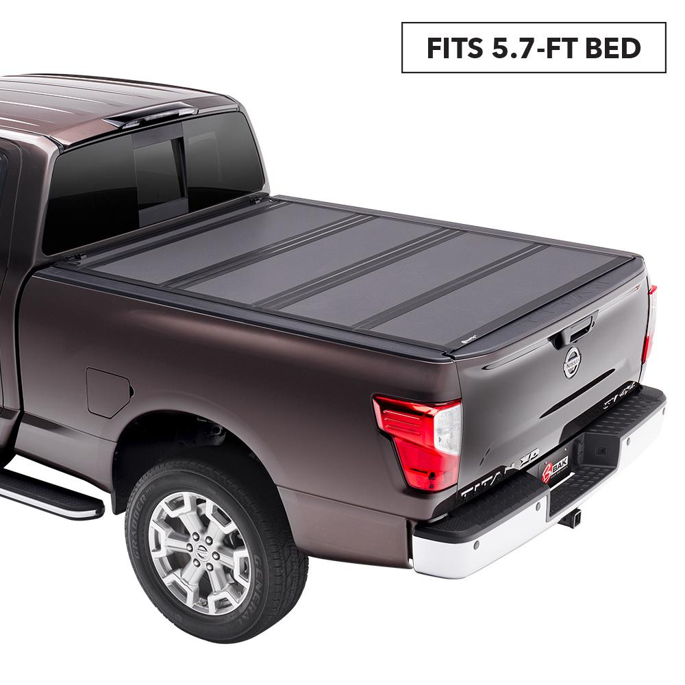 Bak Industries Mx4 Tonneau Cover For 17 19 Titan 5 Ft 7 In Bed 448525 The Home Depot