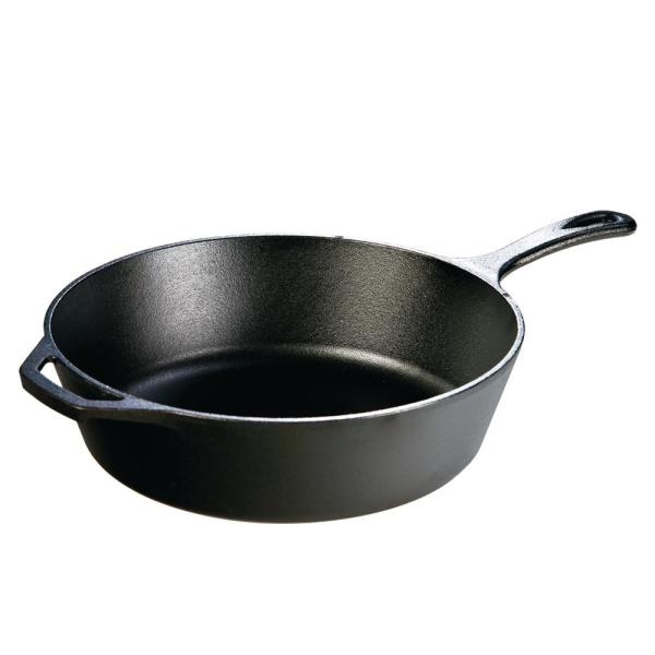 12 in. Cast Iron Deep Skillet