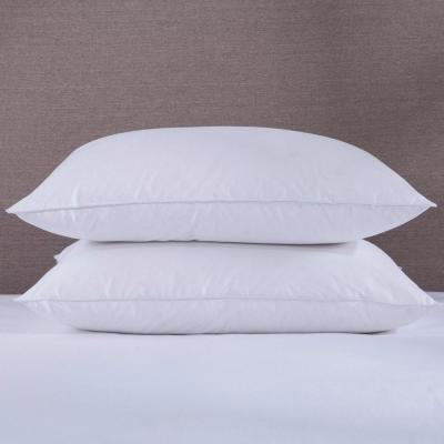 6eaf345a83076 Puredown 50% White Goose Down and 50% White Goose Feather Jumbo Pillow in  Standard