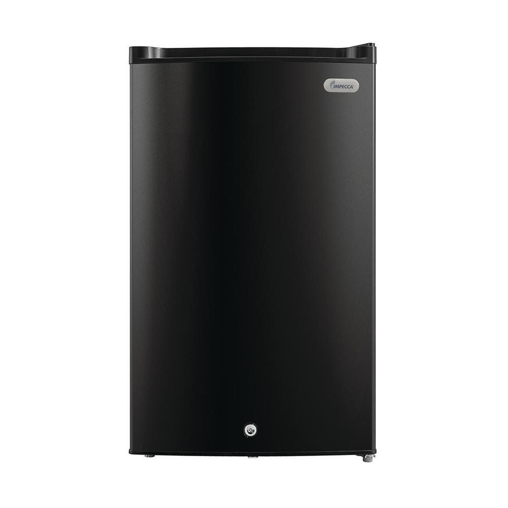 3 cu. ft. compact Upright Freezer in Black