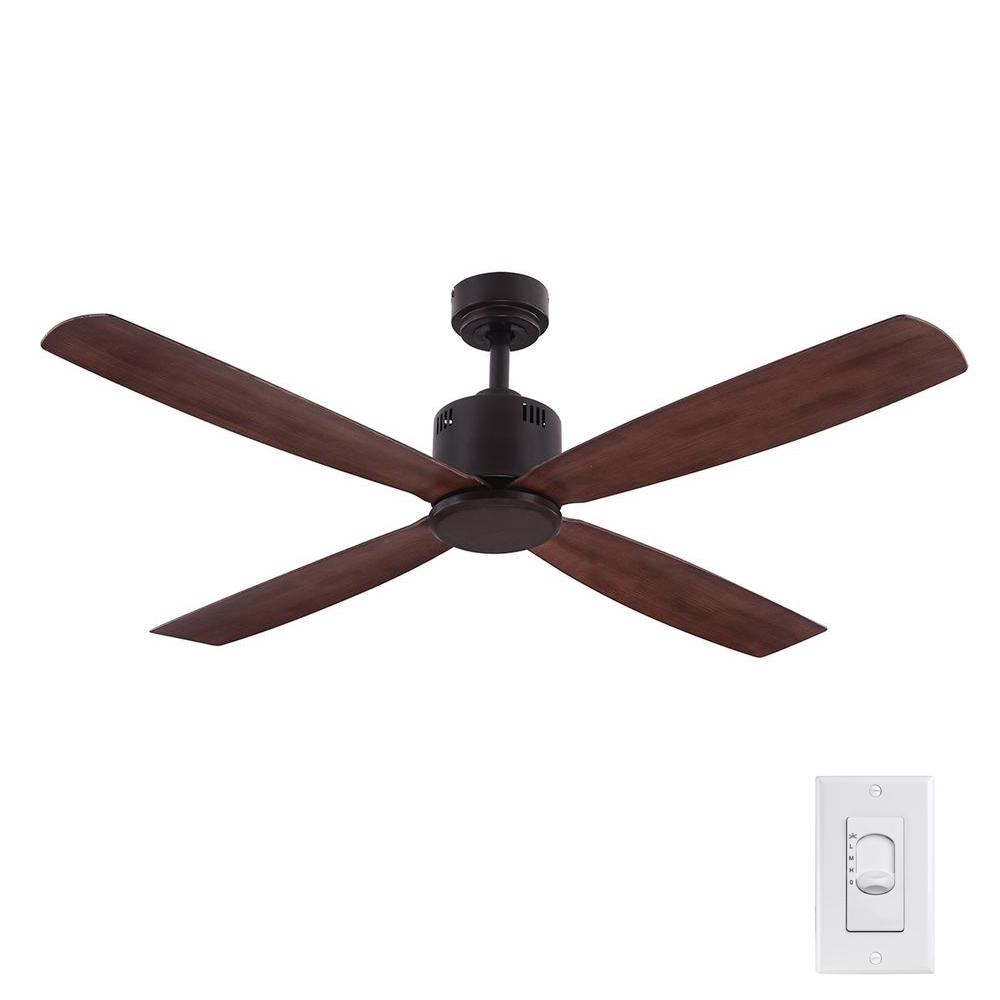 Home Decorators Collection Kitteridge 52 in. Indoor Medium Wood Ceiling Fan