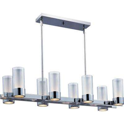 Silo 8-Light Polished Chrome Pendant