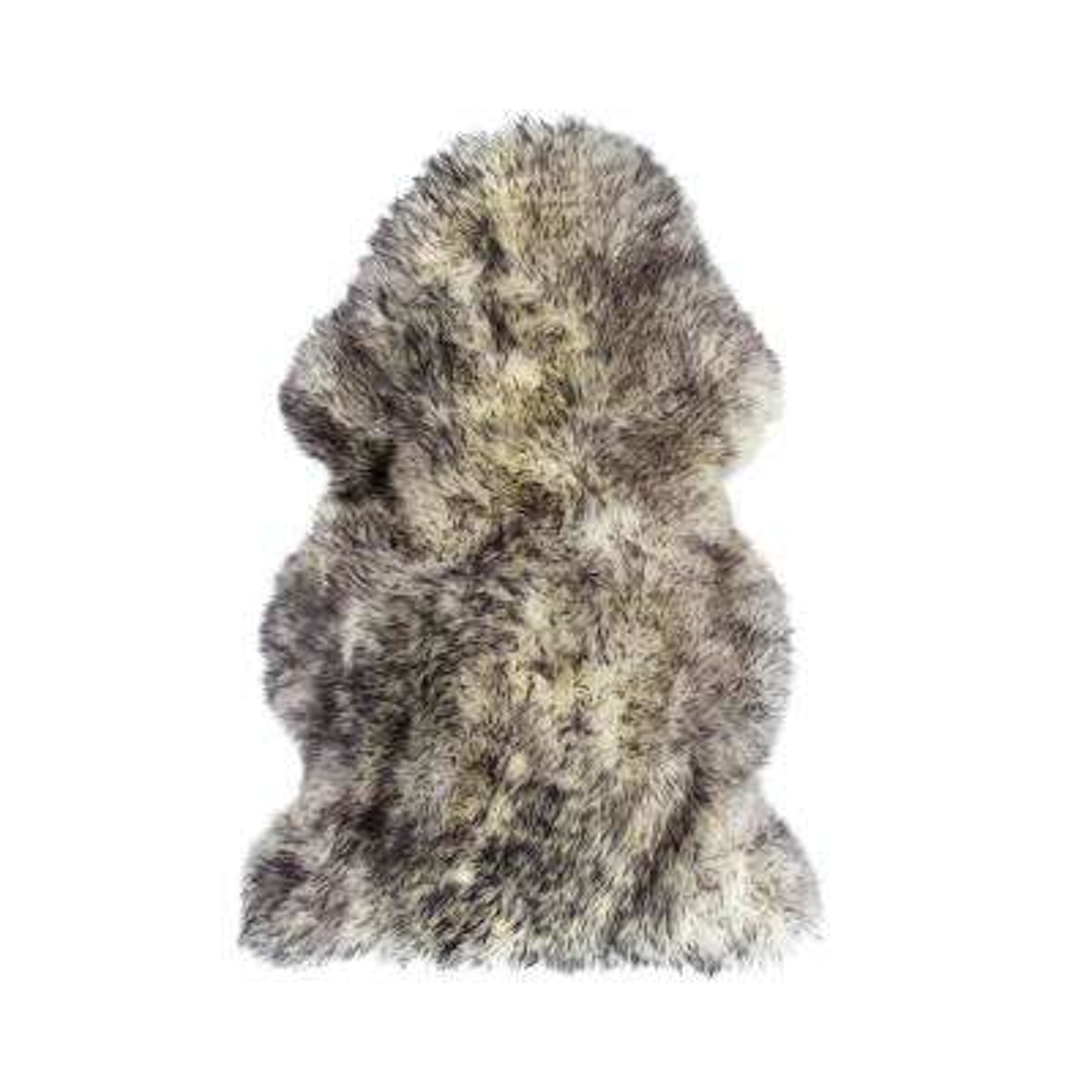 New Zealand Gradient Grey 2 ft. x 3 ft. Single Sheepskin Area Rug