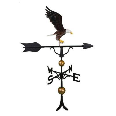 52 in. Deluxe Color Full Bodied Eagle Weathervane