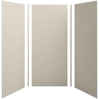 Choreograph 42in. X 42 in. x 96 in. 5-Piece Shower Wall Surround in Sandbar for 96 in. Showers