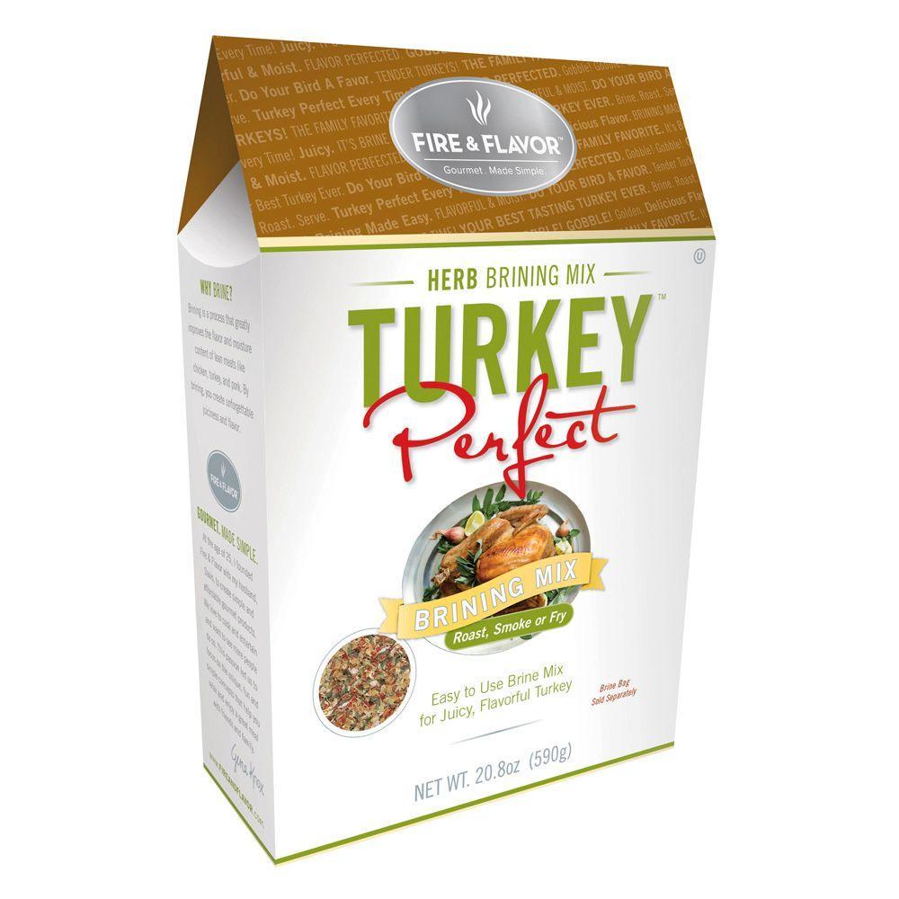 Fire & Flavor Turkey Perfect Herb Brine Mix