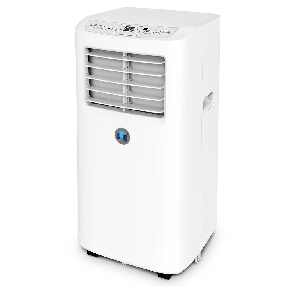 JHS 8,000 BTU Portable Air Conditioner with Dehumidifier with Remote