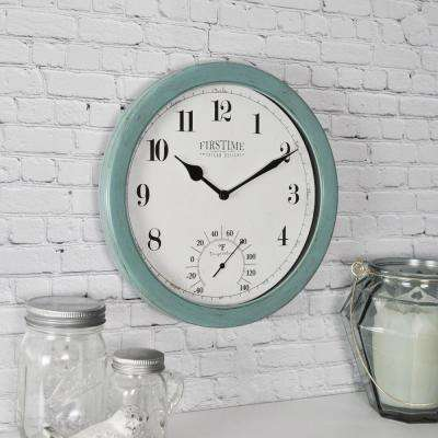 10.5 in. Chatham Outdoor Wall Clock