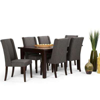 Sotheby 7-Piece Slate Grey Dining Set