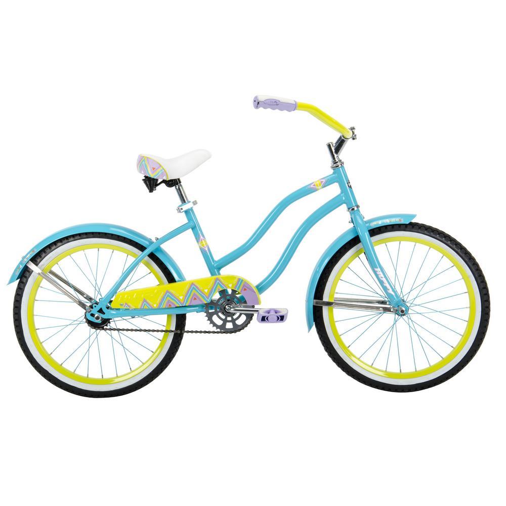 Huffy Good Vibrations 20 in. Girl's Bike, Multi