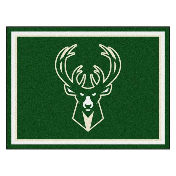 Fanmats 20434-Fanmats Team Color 4 x 6 NBA Milwaukee Bucks 4x6 Rug