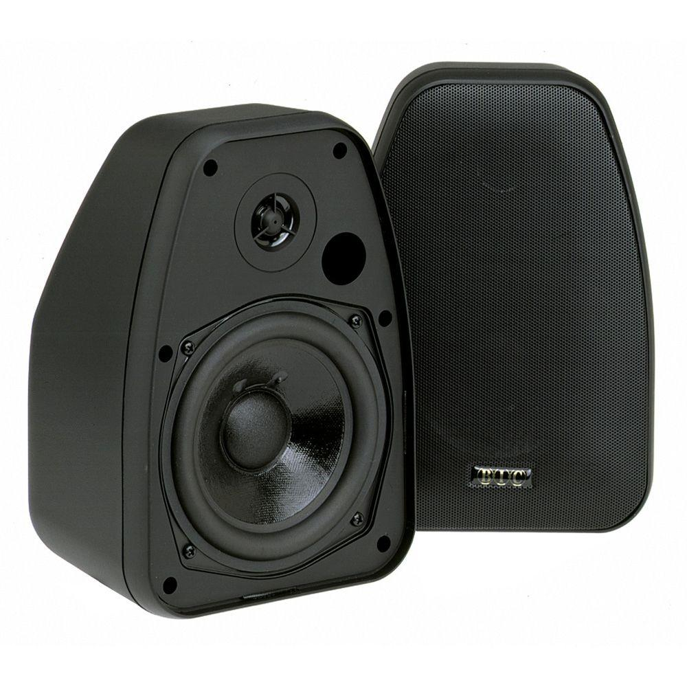BIC America 5 1/4 in. 150-Watt 2-Way Indoor/Outdoor Speaker
