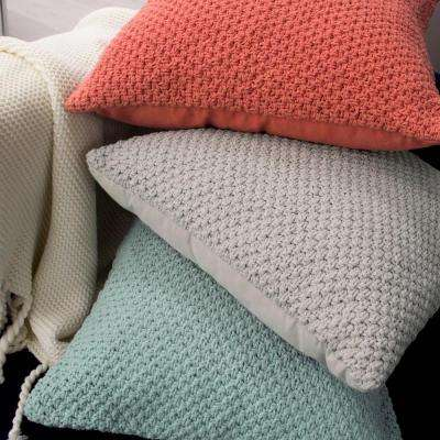 Kelsey Decorative Pillow in Light Gray