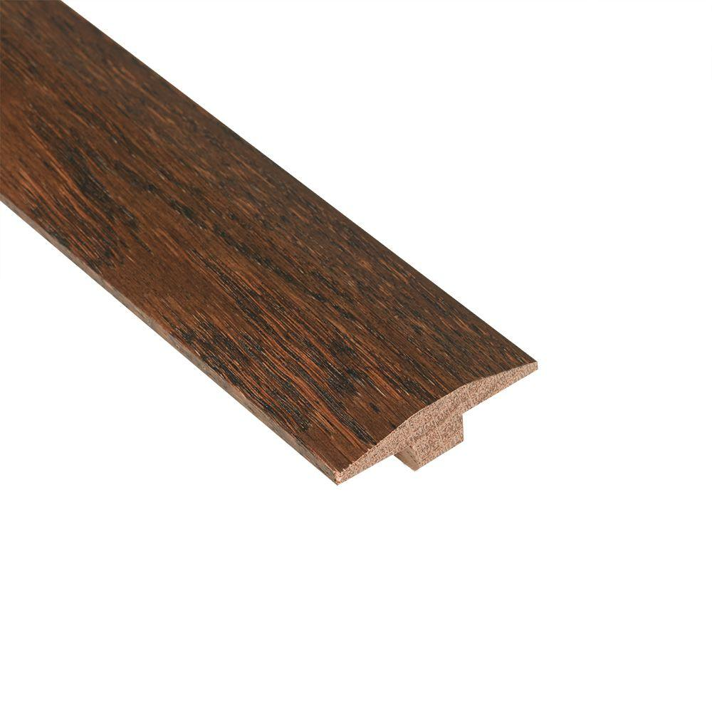 Nydree Flooring Essentials Oak House Blend 5/12 in. Thick x 2 in. Wide x 78 in. Length Hardwood T-Molding