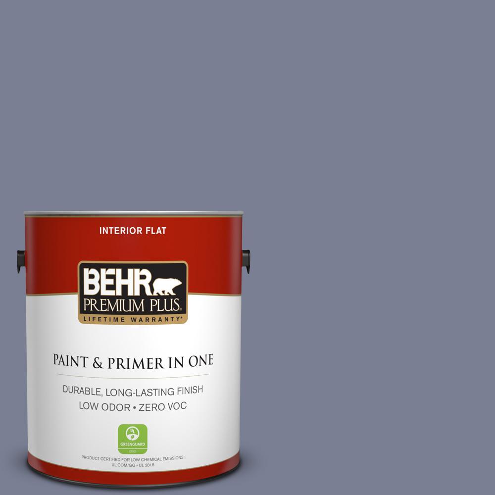 BEHR Premium Plus 1-gal. #620F-5 Majestic Mount Zero VOC Flat Interior Paint