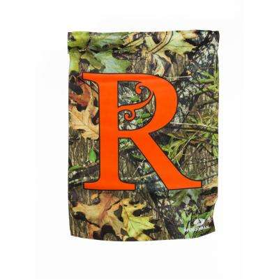 Mossy Oak 2-1/2 ft. x 3-2/3 ft. Monogrammed R 2-Sided Sublimated House Flag