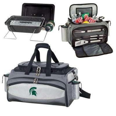 Michigan State Spartans - Vulcan Portable Propane Grill and Cooler Tote by Digital Logo