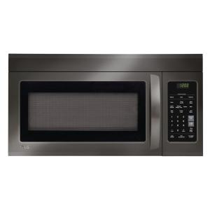 LG Electronics 1.8 cu. ft. Over the Range Microwave in Black Stainless Steel by LG Electronics