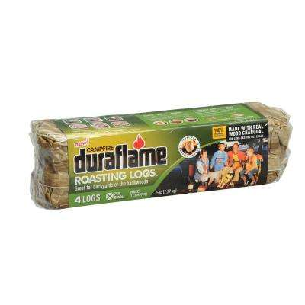 Campfire Roasting Logs