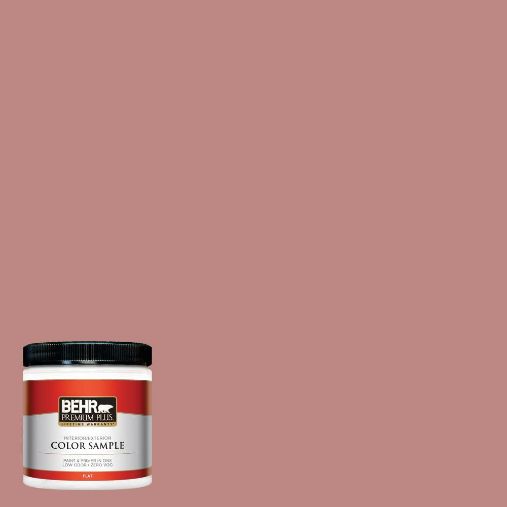8 oz. #S150-4 Red Clover Interior/Exterior Paint Sample