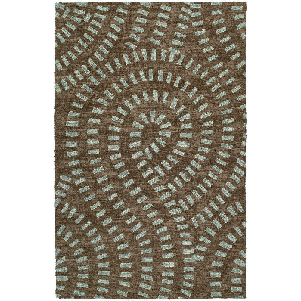 Kaleen Carriage- Traffic Spa 5 ft. x 7 ft. 9 in. Area Rug