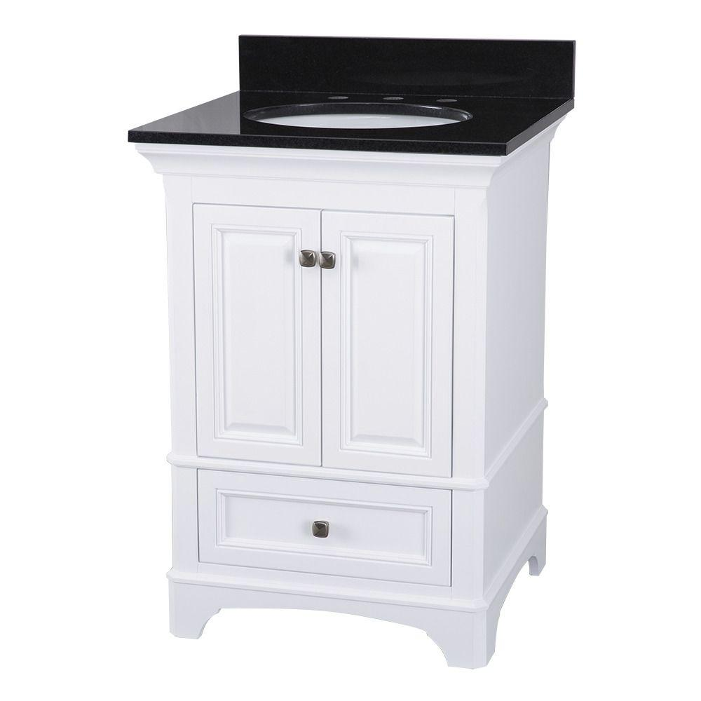 Upc 721015367291 Home Decorators Collection Bathroom Moorpark 25 In Vanity In White With