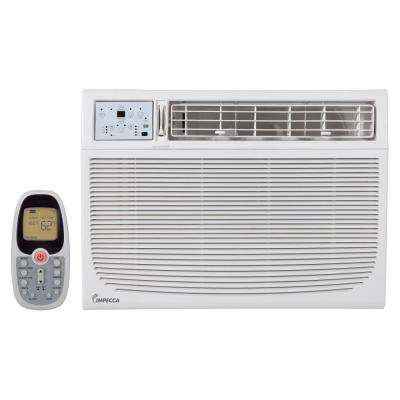 18,000 BTU 230/208-Volt Electronic Controlled Window Air Conditioner with Remote, ENERGY STAR