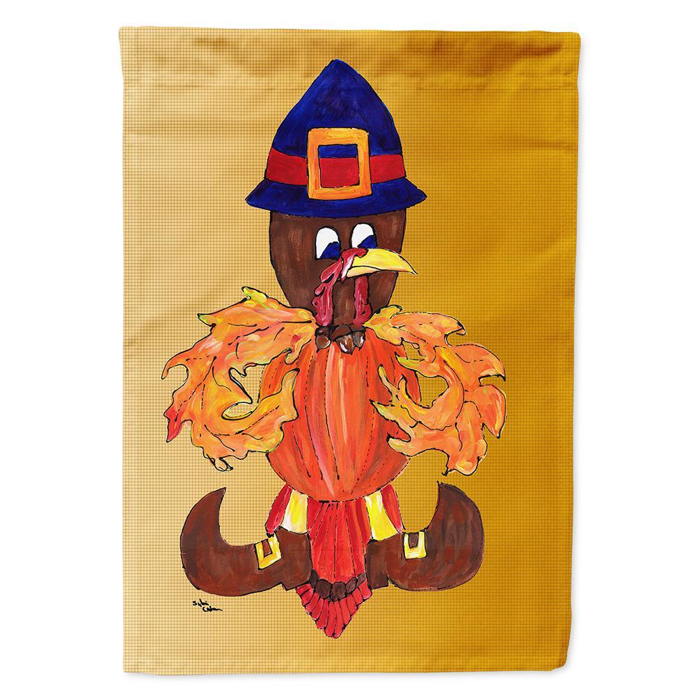 11 In X 15 1 2 Polyester Thanksgiving Turkey Pilgrim Fleur