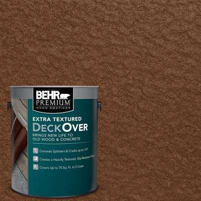 1 gal. #SC-110 Chestnut Extra Textured Solid Color Exterior Wood and Concrete Coating