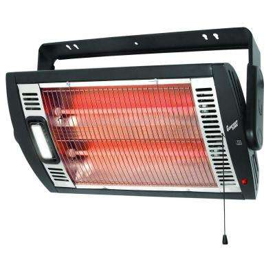 1,500-Watt Electric Infrared Ceiling Mount Quartz Portable Heater