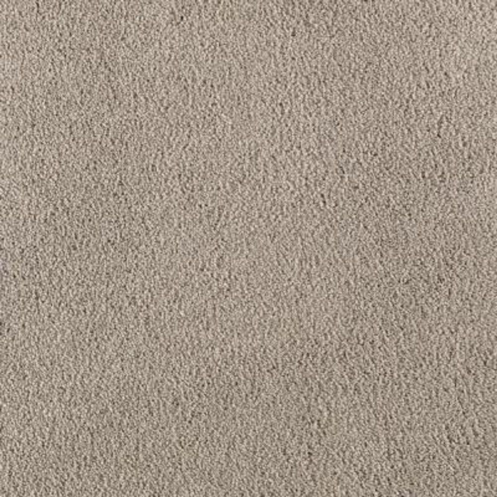 SoftSpring Carpet Sample - Cashmere II - Color Ocean Mist Texture 8 in. x 8 in.