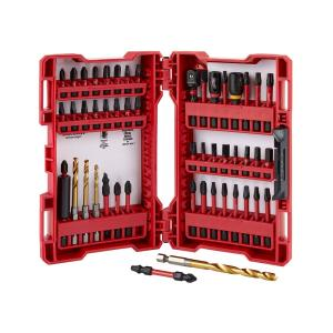 Milwaukee Shockwave Impact Duty Driver Bit Set 50-Piece Deals