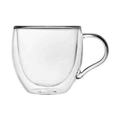 3 oz. Espresso Glass Coffee Mug (Pair of 2)