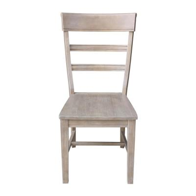 Hammerty Weathered Taupe Gray Dining Chair (Set of 2)