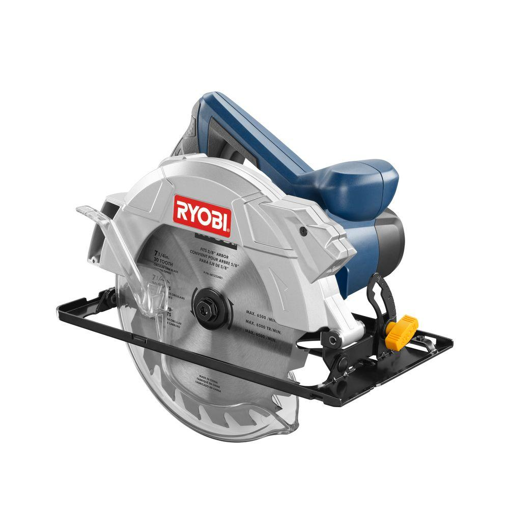 Ryobi 13 amp 7 14 in circular saw csb134l the home depot ryobi 13 amp 7 14 in circular saw keyboard keysfo
