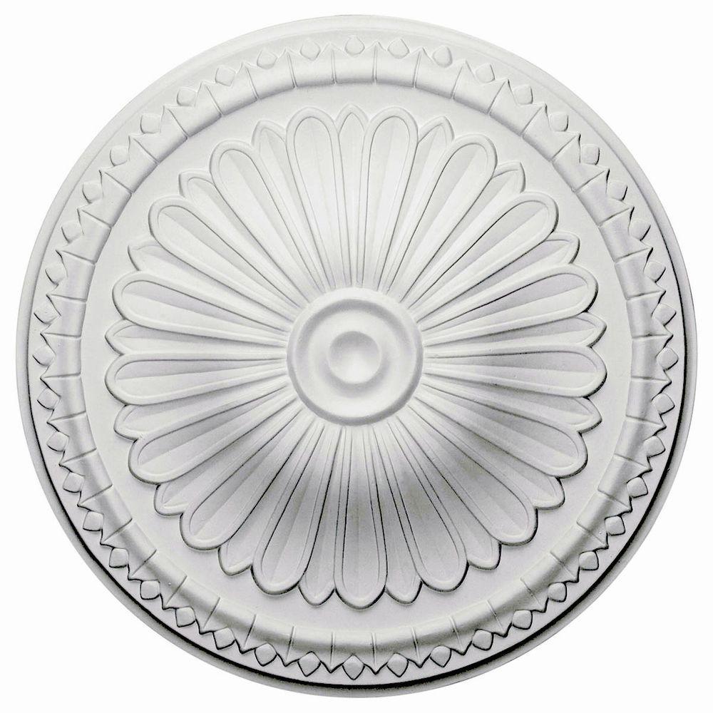 15 in. O.D. x 1-3/4 in. P Alexa Ceiling Medallion
