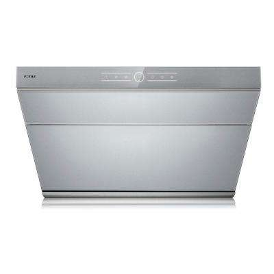 V Series 30 in. 500 CFM Side Draft Air Extraction Under Cabinet or Wall Mount Range Hood in Silver Grey