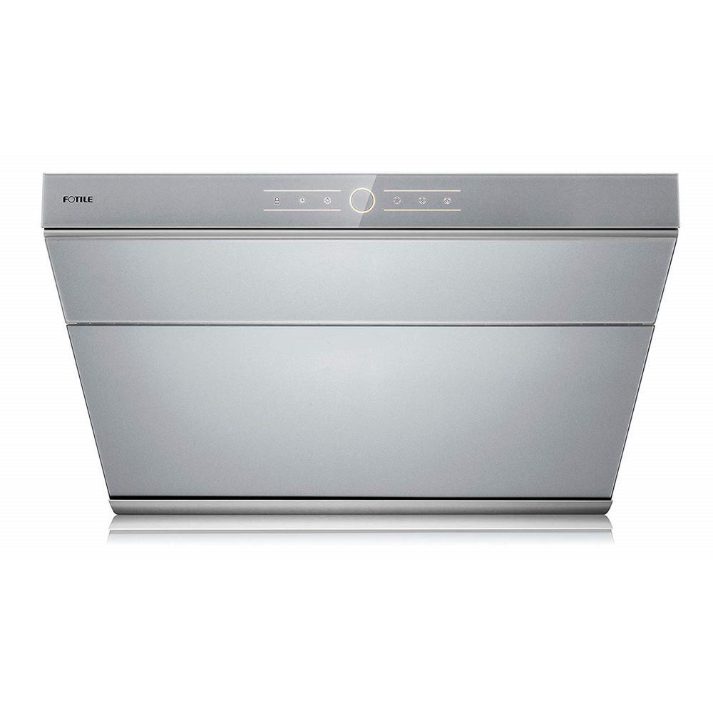 V Series 30 in. 500 CFM Side Draft Air Filtration Under Cabinet or Wall Mount Range Hood in Silver Grey