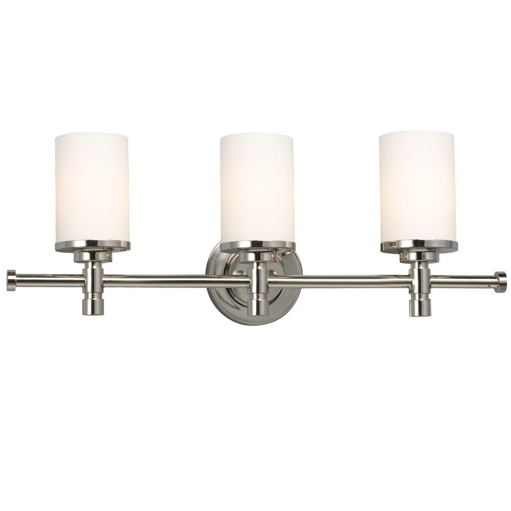Filament Design Vanity Lighting : Filament Design Negron 3-Light Chrome Incandescent Bath Vanity Light-CLI-XY5237706 - The Home Depot