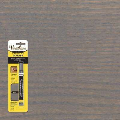 0.33 oz. Gray Wood Stain Furniture and Floor Touch-Up Marker