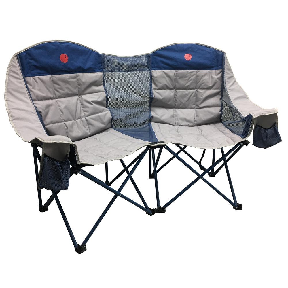 Marvelous Omnicore Designs Moonphase Double Love Seat Heavy Duty Quad Folding Camp Chair Uwap Interior Chair Design Uwaporg