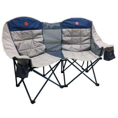 MoonPhase Double Love Seat Heavy-Duty Quad Folding Camp Chair