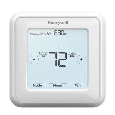 7 day programmable t5 touch screen thermostat