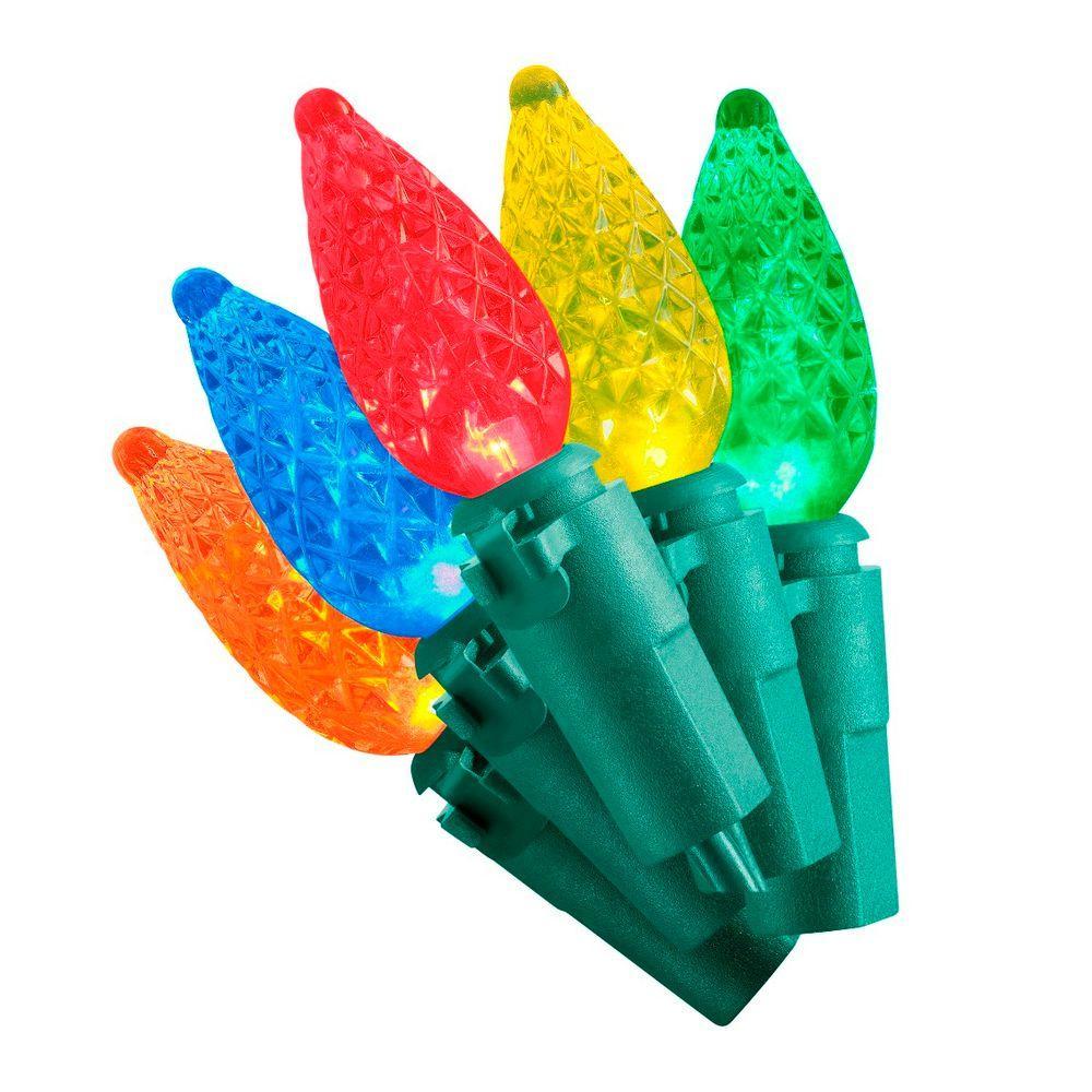 50-Light Multi-Color LED C3 Light Set