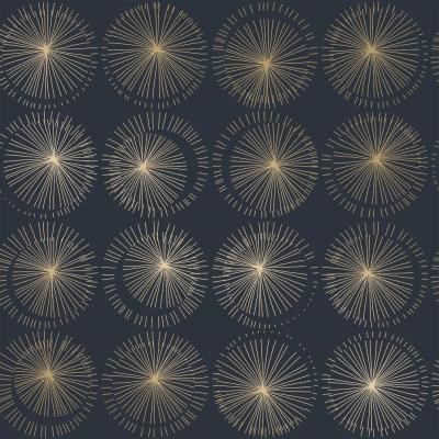 Goodbye Moon Midnight Peel and Stick Wallpaper 56 sq. ft.