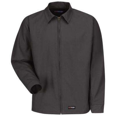 Men's 2X-Large Charcoal Work Jacket