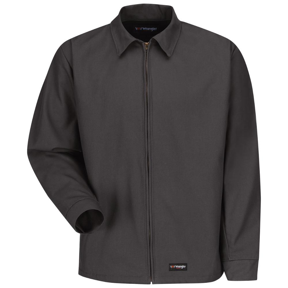 Men's Large (Tall) Charcoal Work Jacket
