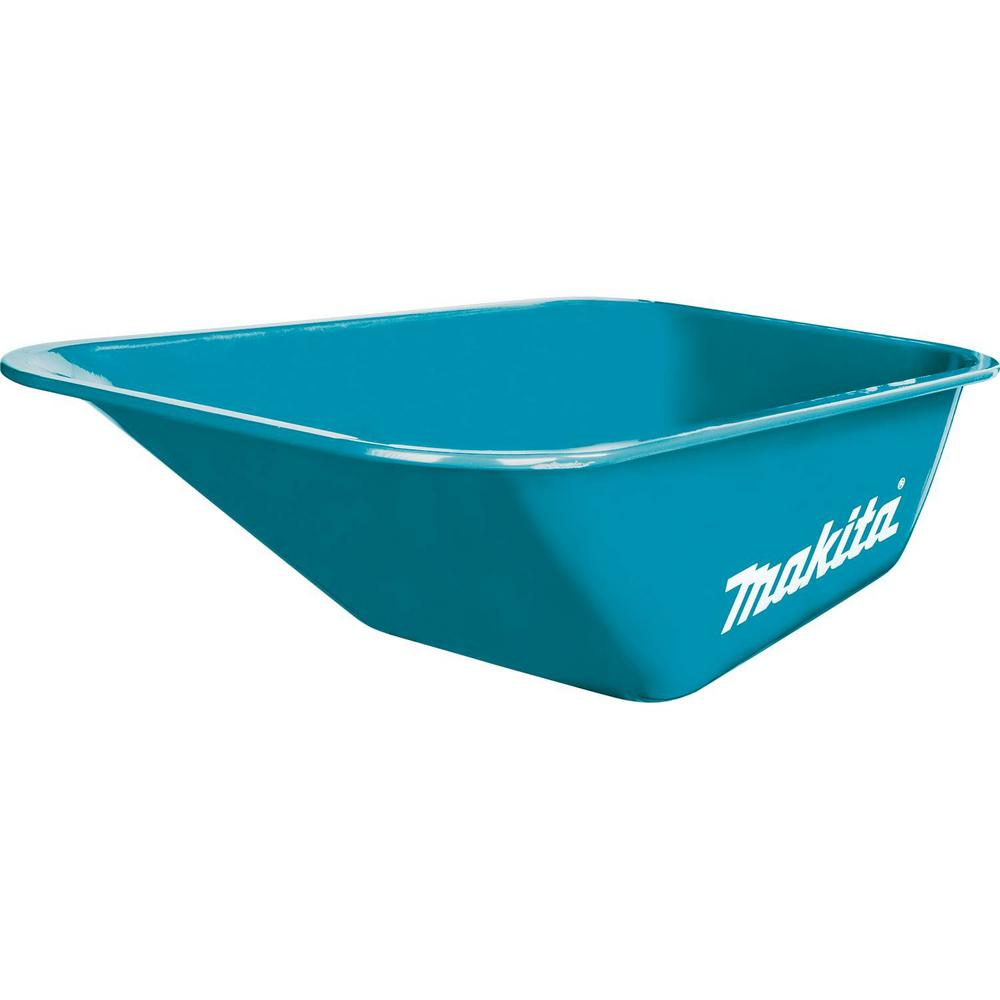 Steel Bucket For use with Makita Power-Assisted Hand Truck/Wheelbarrow model